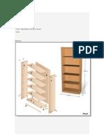 Construir Muebles Con Melamina o Mdf