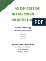 Estado Del Arte de La Seguridad Informatica
