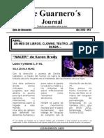 The Guarnero´s Journal 3.Abril 13
