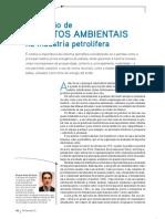 AVALIAÇÃO IMPACTOS AMBIENTAIS INDUSTRIA PETROLEIRA