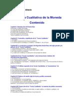 Teoria Cualitativa de La Moneda