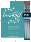 Most beautiful people (April 2013)