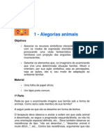 2 - Prova de Alegoria Animal
