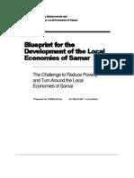 Blueprint for the Development of Local Economies of Samar