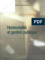 Horizontalité et gestion publique Par Jacques Bourgault-Institute of Public Administration of Canada