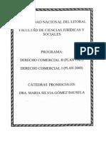 Derecho Comercial (Sociedades) Prof. Gomez Bausela Cátedra Promocional