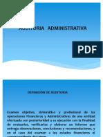 Concepto de Auditoria Administrativa
