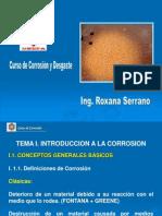 Corrosion Tema i