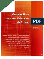 Ventajas Para Importar Celulares de China