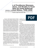 Attribution of Foodborne Illnesses,