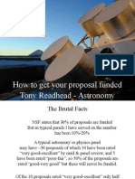 Getting Proposal Funded