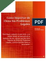 Como Importar de China Sin Problemas Legales
