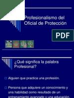 CAPITULO I Profesionalismo Oficiales de Proteccion