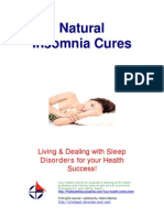 Free Sleep Disorders Insomnia Cures