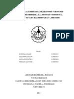 Laporan Kimia Analisis P5