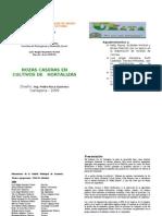 Cartillas Rozas Caseras 2009-1