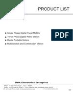 Product List Uma Electronics