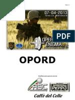 Operazione Enigma Opord 17