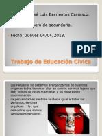 Trabajo N 1 de educacion cívica