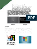 Qué es un sistema operativo