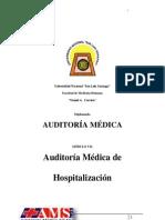 Auditoria Medica de Hospitalizacion