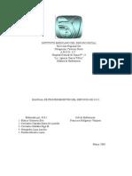 Manual de Procedimientos Del Servicio de u.c.i.