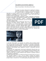 INTELIGÊNCIA DE FONTES ABERTAS