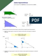 Razões trigonométricas