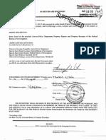 James Holmes Search Warrant