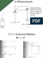 Chap13 Mass Measurements