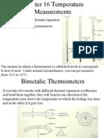 Chap16Temperature Measurements