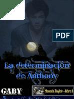 Gaby - Manada Taylor #01 - La determinación de Anthony
