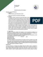 Laboratorio Numero 9 de Quimica Organica Obtencion de Acetileno
