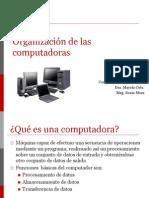 Organizacion de Un Computador