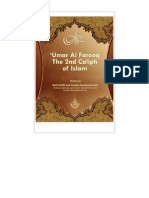 2nd Caliph Hudhrat Umar Farooq'e Azam (Radhi Allah Anhu) [English]