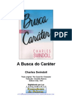 A Busca Do Carater - Charles-R-Swindoll
