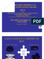 Eduardo Chaparro Agua y Mineria