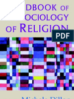 Handbook of the Sociology of Religon