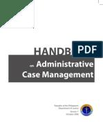 DOJ Case Management Handbook