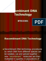 Chapter 3 Recombinant DNA Technology