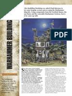 Modelling Warhammer Buildings