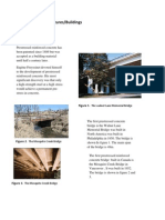 Examples of Structures Prestressed Concrete