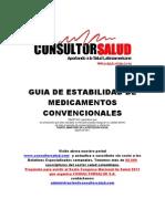 Guia de Estabilidad de Medicamentos Convencionales 2011 MPS
