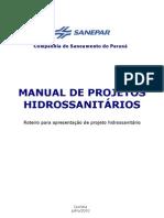1. Manual de Projeto Hidrosanitário, SANEPAR - 2010