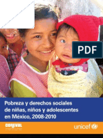 Unicef Coneval Pobreza