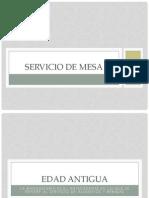 Historia Del Servicio 1