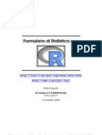 Frascati - Formulary of statistics with R