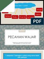 Presentation - Pecahan Wajar