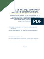 Papel de Trabajo Seminario Derecho Constitucional Para Pancallo