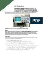 Oscilloscope Dan Fungsinya